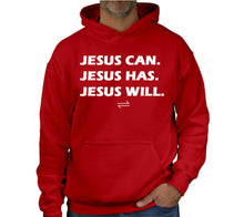 Load image into Gallery viewer, JESUS CAN. HOODIE
