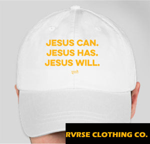 JESUS CAN. DAD HAT