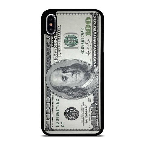 $100 DOLLAR BILL MONEY iPhone XS Max Case Cover