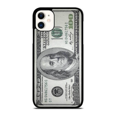 $100 DOLLAR BILL MONEY-iphone-11-case-cover