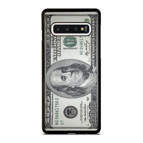 $100 DOLLAR BILL MONEY Samsung Galaxy S10 Case Cover