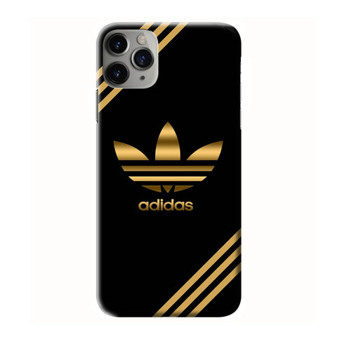 ADIDAS GOLD  iPhone 6/6S 7 8 Plus X/XS XR 11 Pro Max 3D Case - Cool Custom Cover Personalized Design