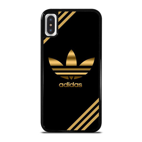 ADIDAS GOLD iPhone X / XS Case - Best Custom Phone Cover Cool Personalized Design