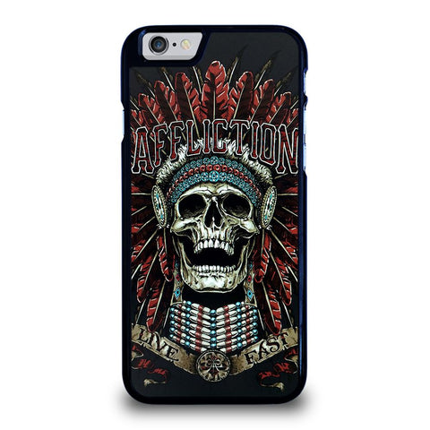 AFFLICTION SKULL INDIAN-iphone-6-6s-case-cover