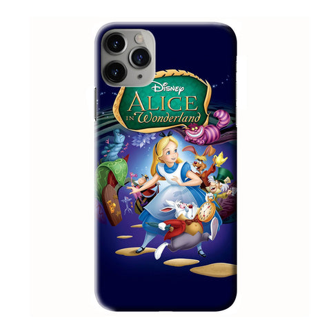 ALICE IN WONDERLAND iPhone 6/6S 7 8 Plus X/XS XR 11 Pro Max 3D Case - Cool Custom Cover Personalized Design