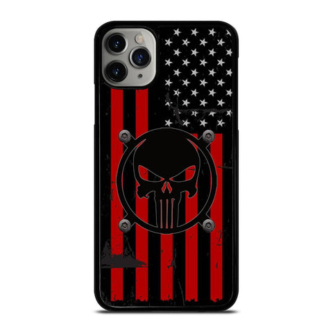 AMERICAN PUNISER FLAG-iphone-11-pro-max-case-cover