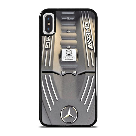 AMG MERCEDES ENGINE AMG iPhone X / XS Case - Best Custom Phone Cover Cool Personalized Design