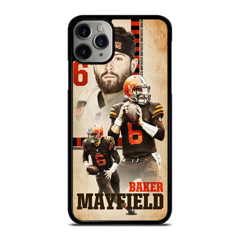 BAKER MAYFLED CLEVELAND BROWNS-iphone-11-pro-max-case-cover