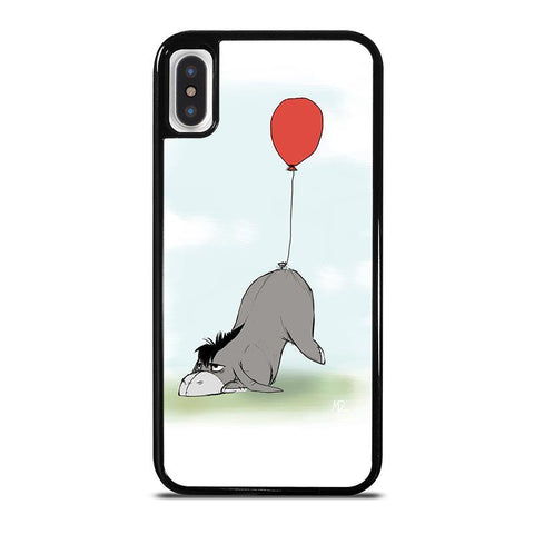 BALLOON EEYORE DONKEY-iphone-x-case-cover