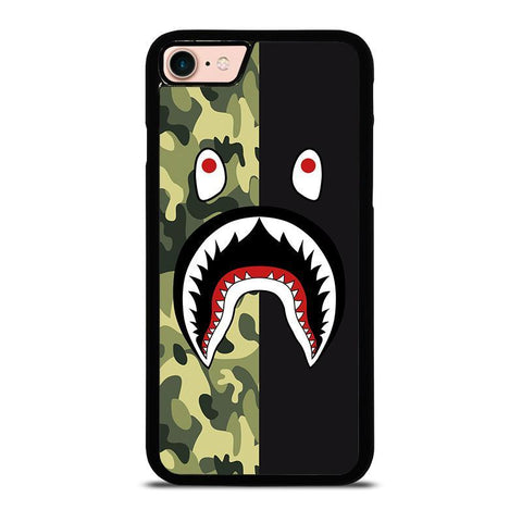 BAPE CAMO SHARK-iphone-8-case-cover