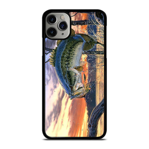 BASS FISHING-iphone-11-pro-max-case-cover