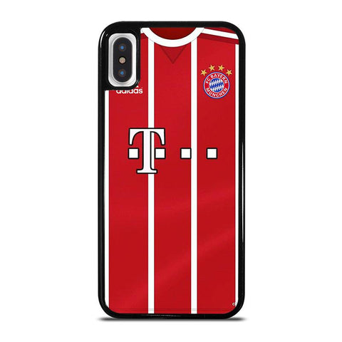 BAYERN MUNCHEN FOOTBALL JERSEY KIT iPhone X / XS Case - Best Custom Phone Cover Cool Personalized Design