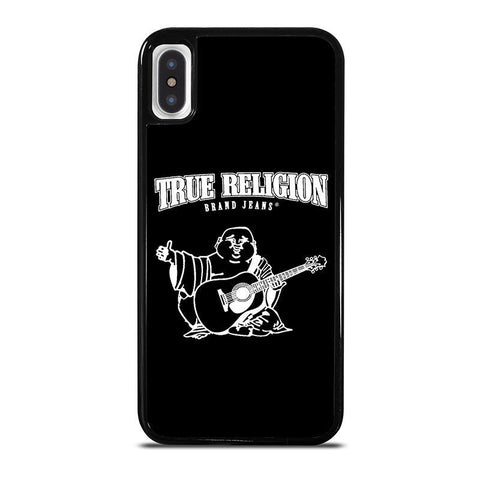 BIG BUDDHA TRUE RELIGION BLACK-iphone-x-case-cover