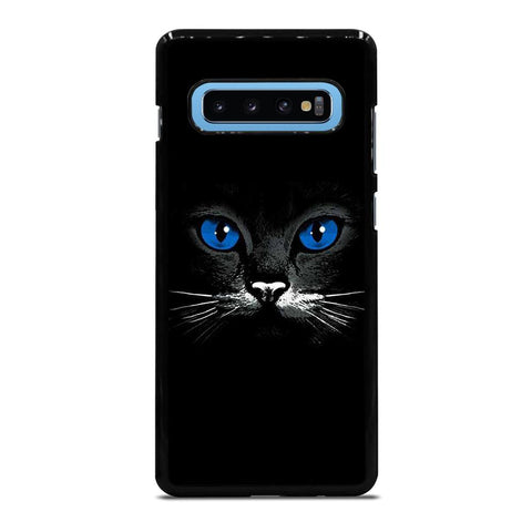 BLACK CAT FACE Samsung Galaxy S10 Plus Case - Best Custom Phone Cover Cool Personalized Design