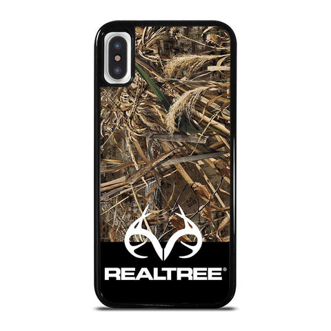 CAMO REALTREE LOGO-iphone-x-case-cover