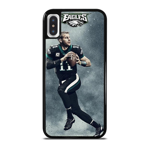 CARSON WENTZ PHILADELPHIA EAGLES-iphone-x-case-cover