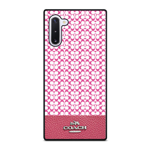 COACH NEW YORK PINK Samsung Galaxy Note 10 Case Cover