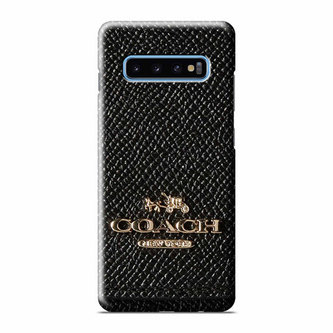 COACH NEW YORK BLACK LOGO Samsung Galaxy 3D Case Cover