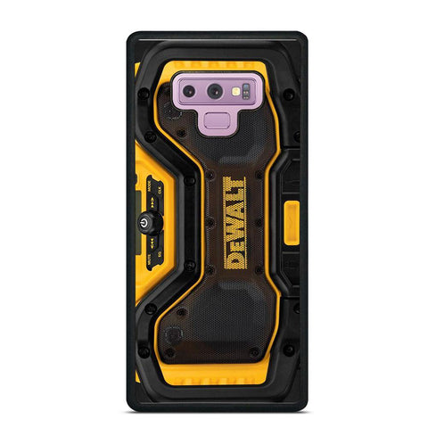 DEWALT JOBSITE RADIO Samsung Galaxy Note 9 Case Cover
