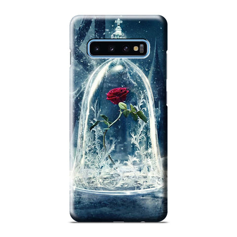 DISNEY BEAUTY AND THE BEAST ROSES Samsung Galaxy S8 S9 S10 S10e S105G S20 Plus Ultra Note 8 9 10 10+ 3D Case Cover