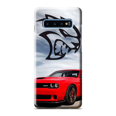 DODGE SRT CHALLENGER HELLCAT Samsung Galaxy S8 S9 S10 S10e S105G S20 Plus Ultra Note 8 9 10 10+ 3D Case Cover