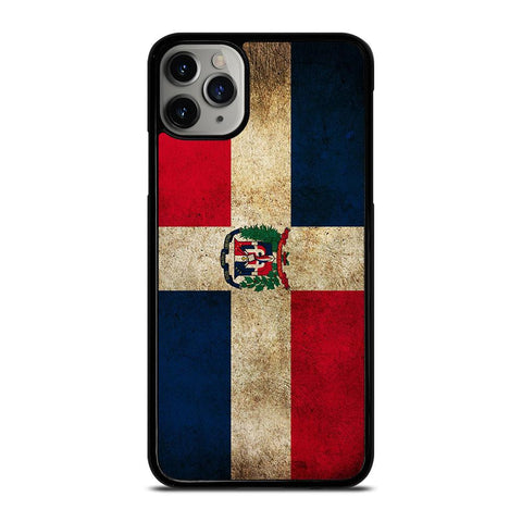 DOMINICAN REPUBLIC FLAG-iphone-11-pro-max-case-cover