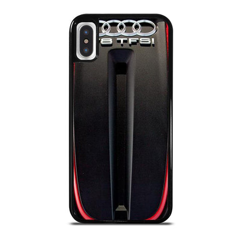 ENGINE AUDI S6 TWIN TURBOCHARGED -iphone-x-case-cover