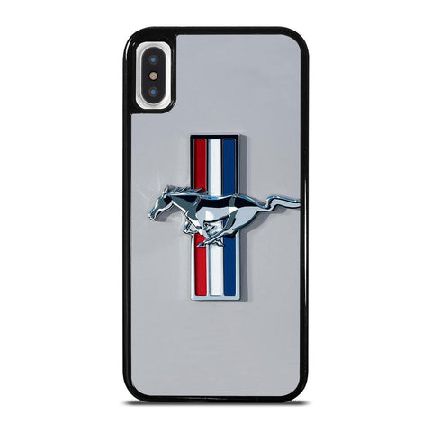 FORD MUSTANG LOGO 2-iphone-x-case-cover