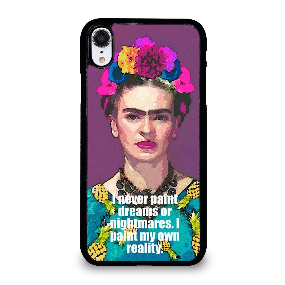 FRIDA KAHLO QUOTES-iphone-xr-case-cover