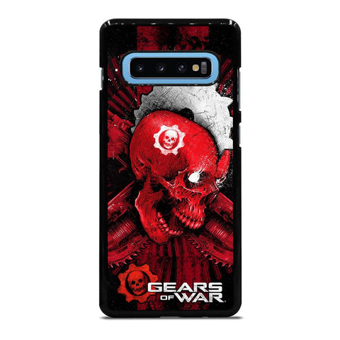 GEARS OF WAR SKULL Samsung Galaxy S10 Plus Case - Best Custom Phone Cover Cool Personalized Design