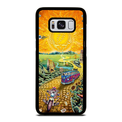 GRATEFUL DEAD GOLD ROAD Samsung Galaxy S8 Case Cover