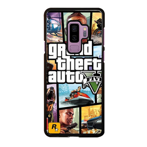 GTA 5 GRAND TEFT AUTO -samsung-galaxy-s9-plus-case-cover