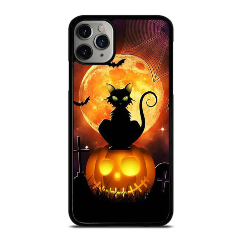 HALLOWEEN WITCH PUMPKIN-iphone-11-pro-max-case-cover