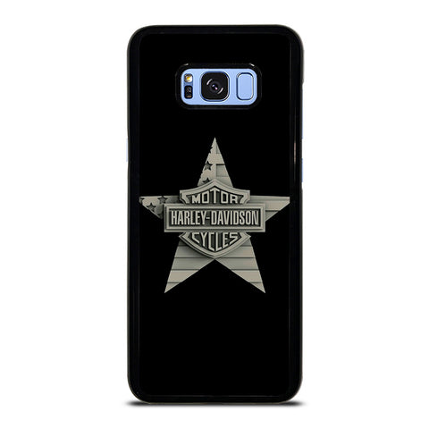 HARLEY DAVIDSON WOODEN STAR LOGO Samsung Galaxy S8 Plus Case Cover