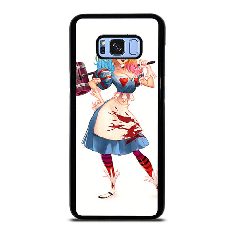 HARLEY QUINN ALICE IN WONDERLAND Samsung Galaxy S8 Plus Case Cover