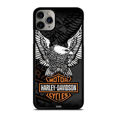 HARLEY DAVIDSON LOGO-iphone-11-pro-max-case-cover
