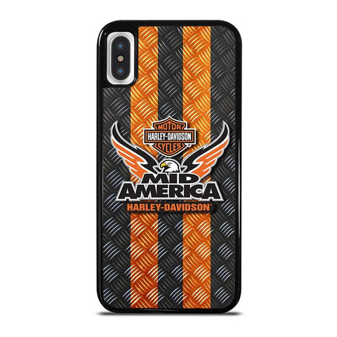 HARLEY DAVIDSON MID AMERICA,-iphone-x-case-cover