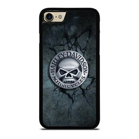 HARLEY DAVIDSON MOTORCYCLE SKULL-iphone-7-case-cover