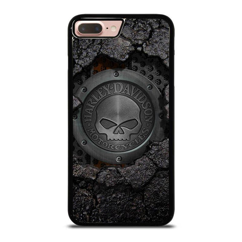 HARLEY-DAVIDSON-SKULL-LOGO-iphone-8-plus-case-cover