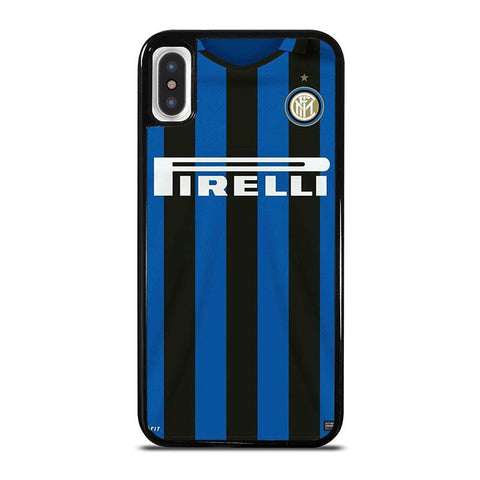 INTER MILAN FOOTBALL JERSEY KIT iPhone X / XS Case - Best Custom Phone Cover Cool Personalized Design