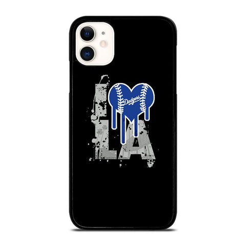 I LOVE LA DODGERS -iphone-11-case-cover