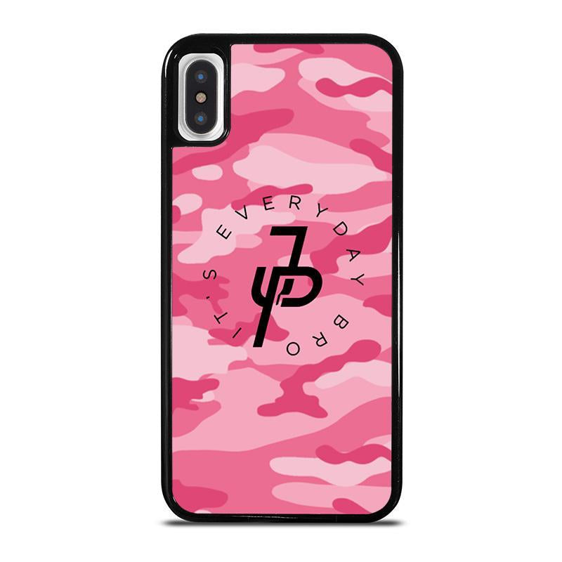 JAKE PAUL PINK CAMO,-iphone-x-case-cover