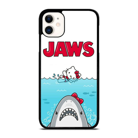 JAWS HELLO KITTY-iphone-11-case-cover