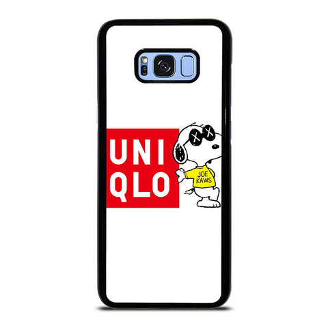 JOE KAWS UNIQLO LOGO Samsung Galaxy S8 Plus Case Cover