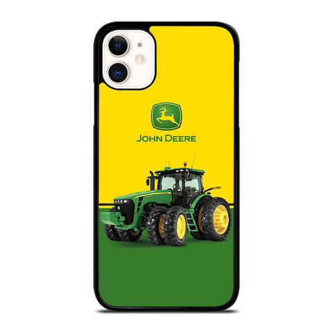 JOHN DEERE WITH TRACTOR-iphone-11-case-cover