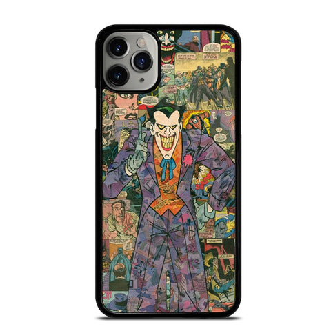 JOKER COMIC COLLAGE-iphone-11-pro-max-case-cover