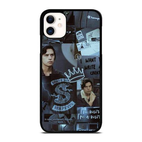 JUGHEAD JONES RIVERDALE COLLAGE-iphone-11-case-cover