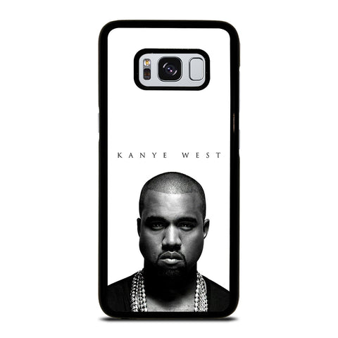 KANYE WEST RAPPER WHITE Samsung Galaxy S8 Case Cover