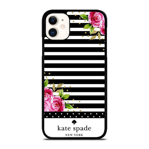 KATE SPADE FLORAL POLKADOTS-iphone-11-case-cover