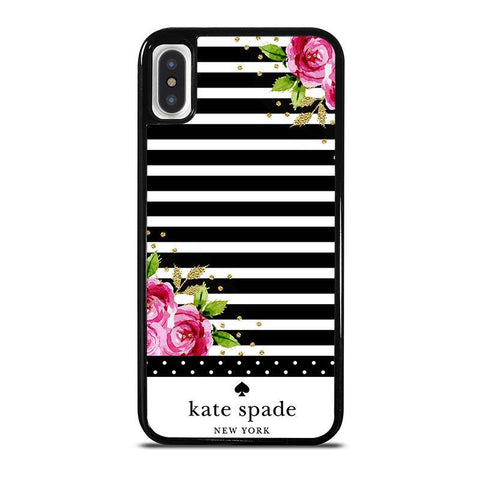 KATE SPADE FLORAL POLKADOTS-iphone-x-case-cover